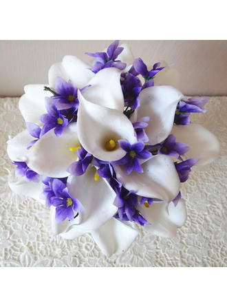 """Bridal Bouquets Hand-tied 8.66""""(Approx.22cm) 9.84""""(Approx.25cm) Color & Style representation may vary by monitor/Not responsible for typographical or pictorial errors. Wedding Flowers"""