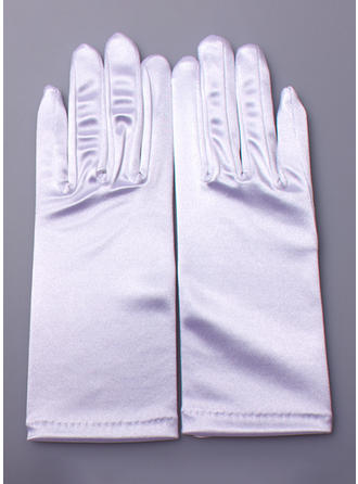 Nylon Ladies' Gloves Wrist Length Bridal Gloves Nylon Gloves