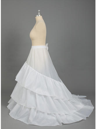 PLUS SIZE Petticoats Nylon/Tulle Netting Ball Gown Slip/Full Gown Slip 3 Tiers Special Occasion Petticoats